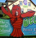 Image for Lobster Photo CUTOUT - Welcome to PEI.