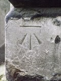 Image for Cut Bench Mark - St Giles in the Fields Church, Flitcroft Street, London, UK