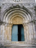 Image for Doorway of the Church of São Pedro de Rates - Póvoa de Varzim, Portugal