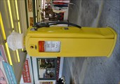Image for Shell Premium Vintage Gasoline Pump ~ Pigeon Forge, Tennessee