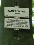 Image for Elevation Sign - Zampach Castle, Czech Republic. 546 m