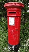 Image for Victorian Post Box, Tong Lane – Tong, Bradford, UK