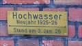 Image for Rhein-Hochwasser 1925-1926, Lüttingen, Germany