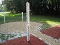 Image for Peace Pole - Pilgrim Church - St. Augustine, FL