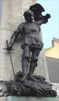 Image for The Dragon Being Slain by Saint George – Leeds, UK