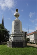 Image for Louisiana Confederate Memorial -- Uptown Vicksburg Historic District -- Vicksburg MS