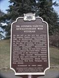 Image for Dr. Stephen Tainter Revolutionary War Veteran