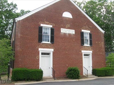 This church has stood at this location since 1859 and survived heavy damages during the Battle of Spotsylvania Court House.