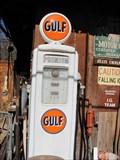 Image for Gulf Gasoline Pump - Tularosa, MN