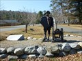 Image for General Henry Knox with Cannon Sculpture - Otis, MA