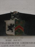Image for Shuttleworth Grimshawe Coat of Arms - St James' Church, Church End, Biddenham, Bedfordshire, UK