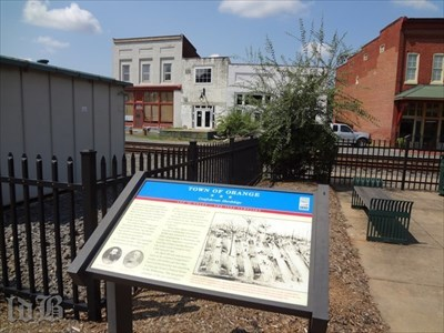 The railroad in Orange was vital for the transport of supplies and troops during the Confederate winter encampment of 1863-64.