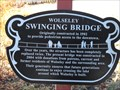 Image for Wolseley Swinging Bridge
