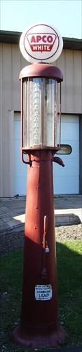 Image for Apco White Gas Pump - Volo Auto Museum - Volo, IL