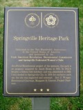 Image for Springville Heritage Park Marker - Springville, Utah