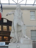 Image for Admiral Sir William Sidney Smith Statue - National Maritime Museum, Greenwich, London, UK