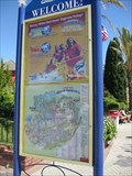 "Image for ""You are here"" (left side of entrance) - California's Great America - Santa Clara, CA"