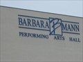 Image for Barbara B. Mann Performing Arts Hall - Ft. Myers, FL