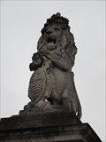 Image for Lion on West Gate to Buckingham Palace - Westminster, London, UK