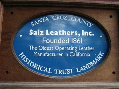 Blue Plaque for Salz Tannery