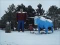 Image for Paul Bunyan and Babe the Blue Ox - Bemidji, MN