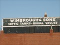 Image for  Wimbrough and Sons