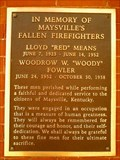 Image for Maysville, KY - Firefighters Memorial