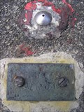 Image for Survey Marker at the Waihohonu Tunnel.  Central Plateau. New Zealand.