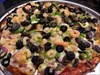 In addition to traditional pizza toppings, you can get unusual ones too like shrimp and oysters