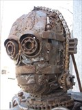 Image for C3PO Metal Sculpture - Oakland, California