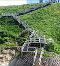 Image for Stairs to the Indian Ocean - Wilderness, South Africa