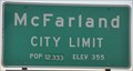 Image for McFarland ~ Elevation 355
