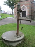 Image for Pumpa u kostela - Bilovice nad Svitavou, Czech Republic