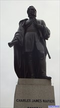 Image for General Charles James Napier Statue - Trafalgar Square, London, UK