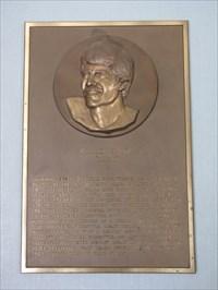 Mark Spitz plaque, International Swim Center HOF, Santa Clara, California