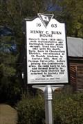 Image for 16-63 Henry C. Burn House