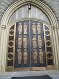 Image for Saint Andrews Catholic Cathedral Door - Little Rock, Arkansas
