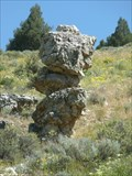 Image for Balanced Rock - north of Lava Hot Springs, ID