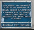 Image for Heugh Dunlop and Company Warehouse  - Bradford, UK