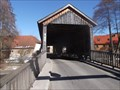"""Image for Covered Bridge """"Ilmbrücke"""" Buchfart / Thuringia/ Germany"""