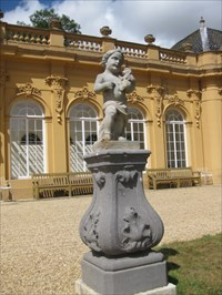 Another statue in front of the Orangery.