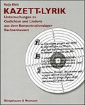 Image for Kazett-Lyrik - Research on Poems from a German Concentration Camp