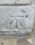 Image for Cut Bench Mark & Bolt - Old Royal Naval College, Greenwich, London, UK