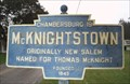 Image for Blue Plaque: McKnightstown
