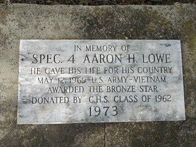 Aaron H. Lowe, Specialist 4th Class, killed in Vietnam; by MountainWoods