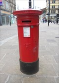 Image for Victorian Post Box - Ivegate Street - Bradford, England