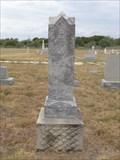 Image for W.R. Robison - Abbott Cemetery - Abbott, TX