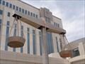Image for Scales Of Justice - Metropolitan Courthouse - Albuqurque, New Mexico, USA