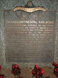 Image for Transcontinental Railroad