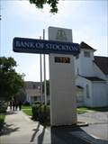 Image for Bank of Stockton Sign - Ripon, CA